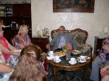 Beseda s prezidentom Slovenského Červeného kríža, doc. MUDr. Viliamom Dobiášom, PhD.,